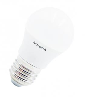 LED žiarovka Sandy LED E27 B45 S1048 7W 4000K